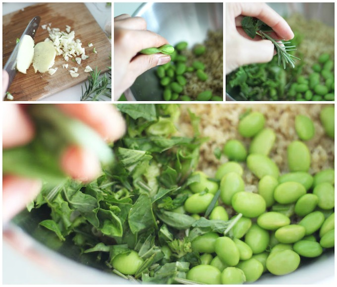 Picture of Prepare the Grain Salad.