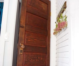 Refinishing an Old Door for My New Guest Bedroom and Library!