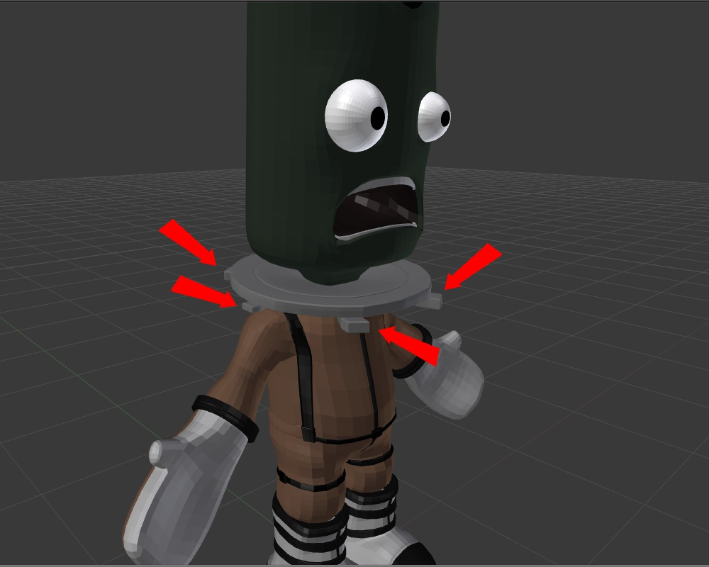Picture of Modelling the (Kerbal) Character