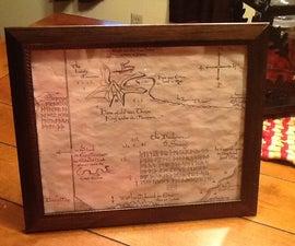 Thror's Map Replica