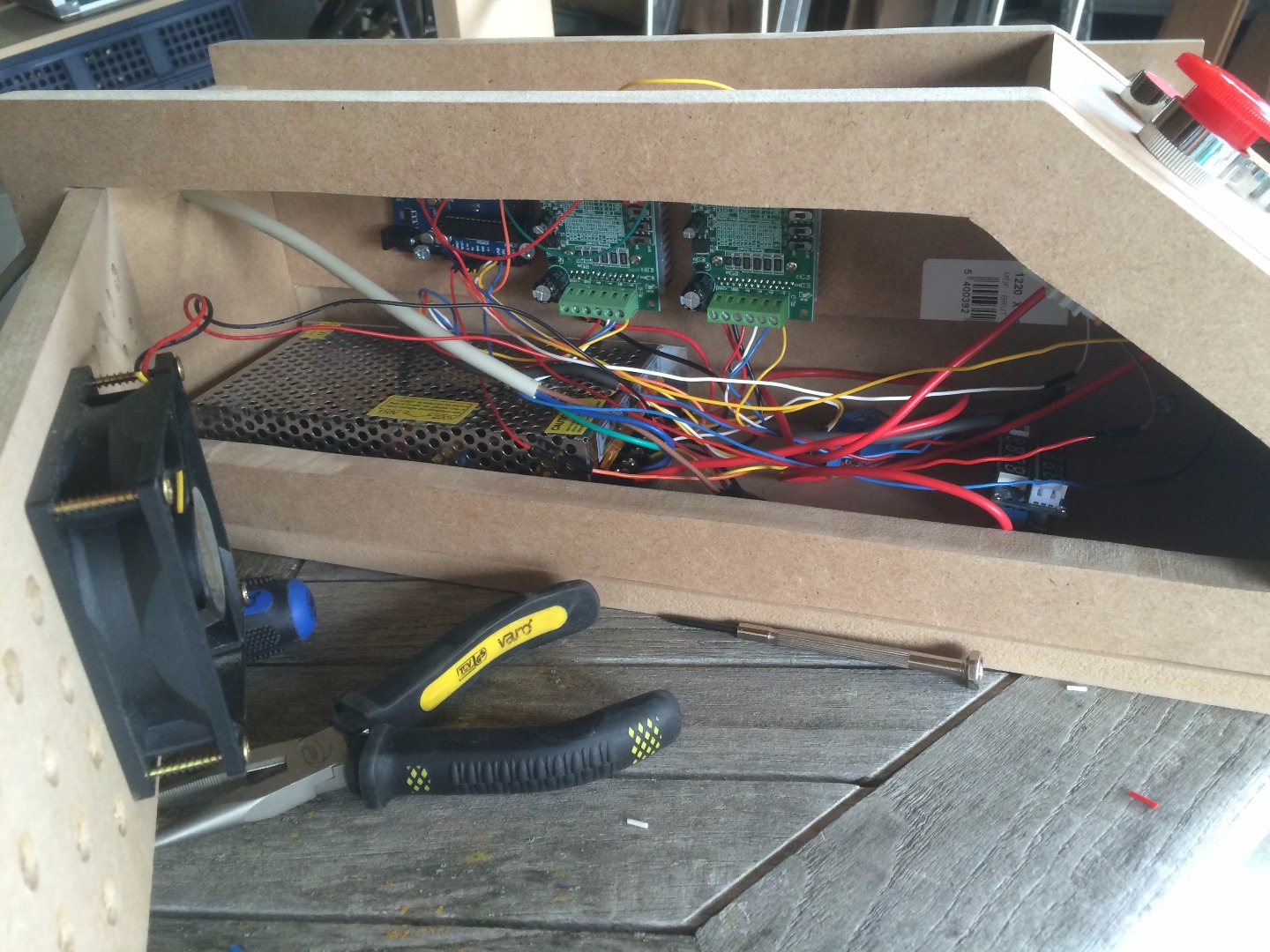 Picture of Put in the Electronics