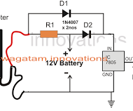 Arduino Mains Failure Battery Backup Circuit