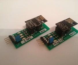 Wireless Serial (UART) for Arduino/STM32/etc.