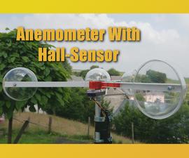 DIY Anemometer With Hall-Sensor