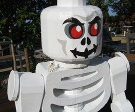 Mega Lego Skeleton