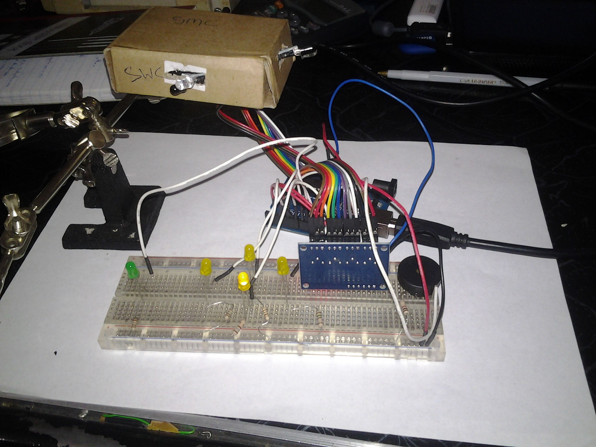 Picture of 1-2 Testing the Sensors and Actuators