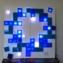 Pixelated Flower Lights