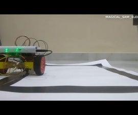 LINE FOLLOWER ROBOT    ARDUINO CONTROLLED