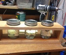 Paint Thinner Jar Rack