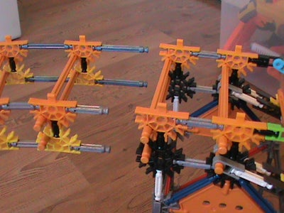 Attaching the Support Towers and Track