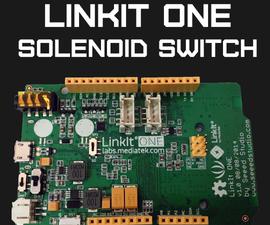 LinkIt ONE Bluetooth Solenoid Control
