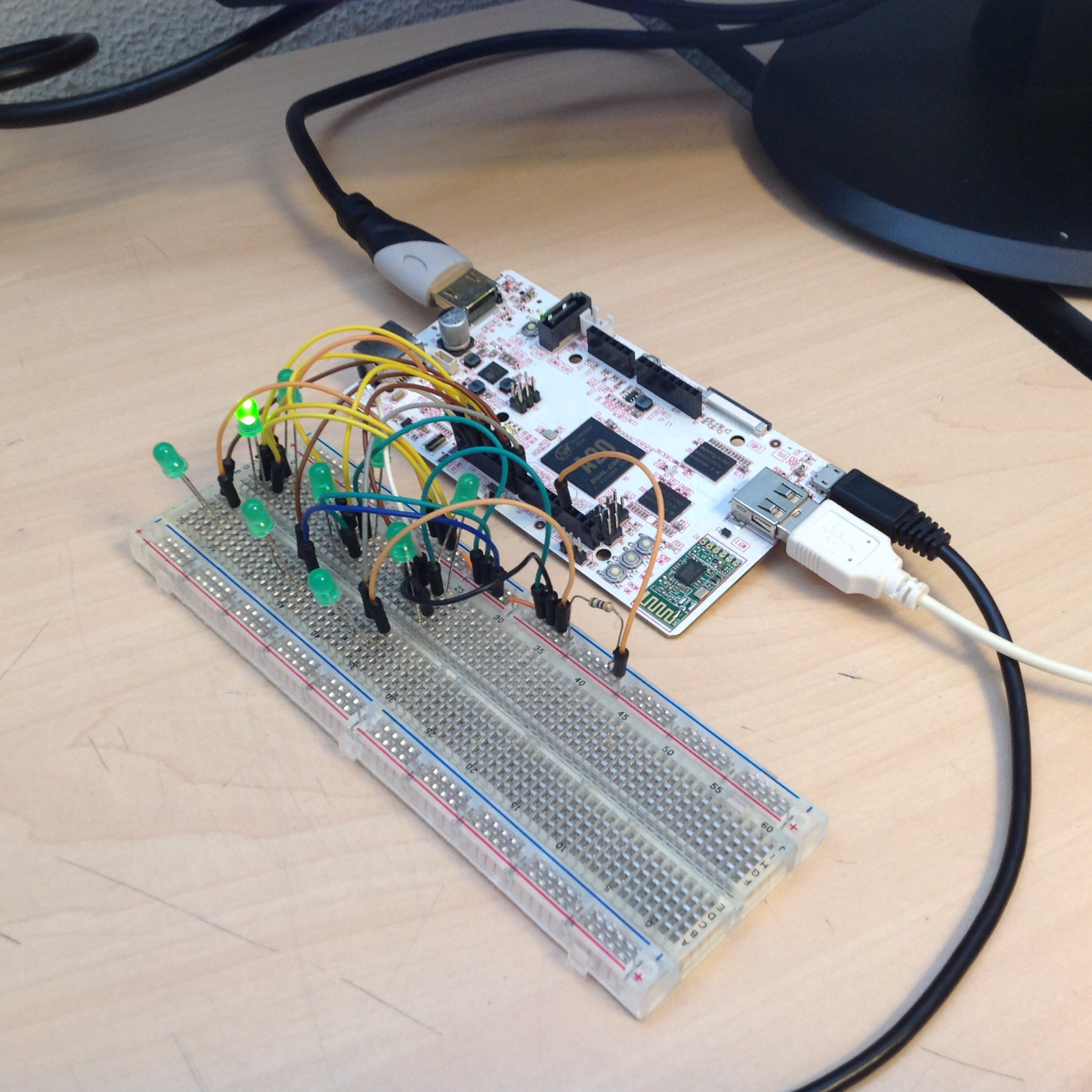 Picture of Tic Tac Toe Twitter Bot for PCDuino