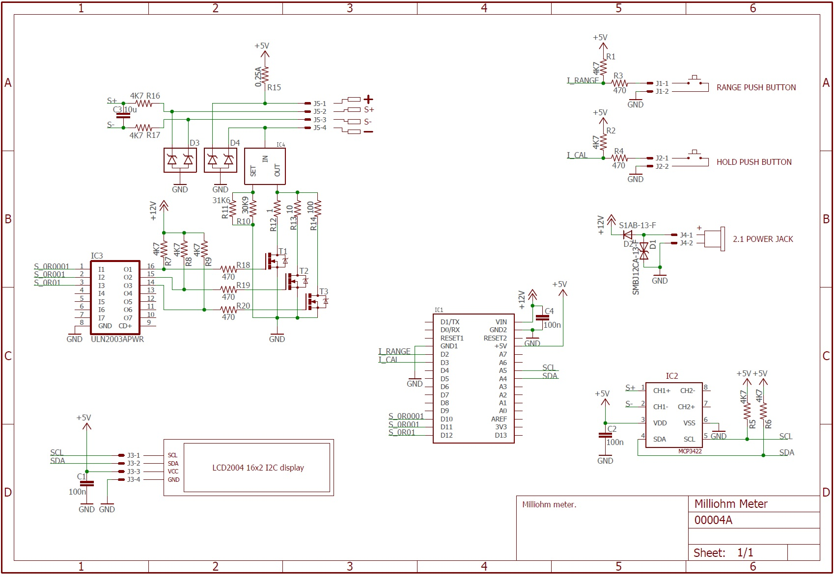 Picture of Circuit Design and Schematic