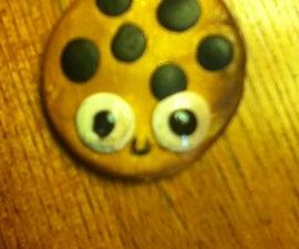 Polymer Clay Kawaii Cookie