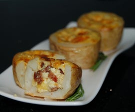 Potato-Skin Mini-Quiches