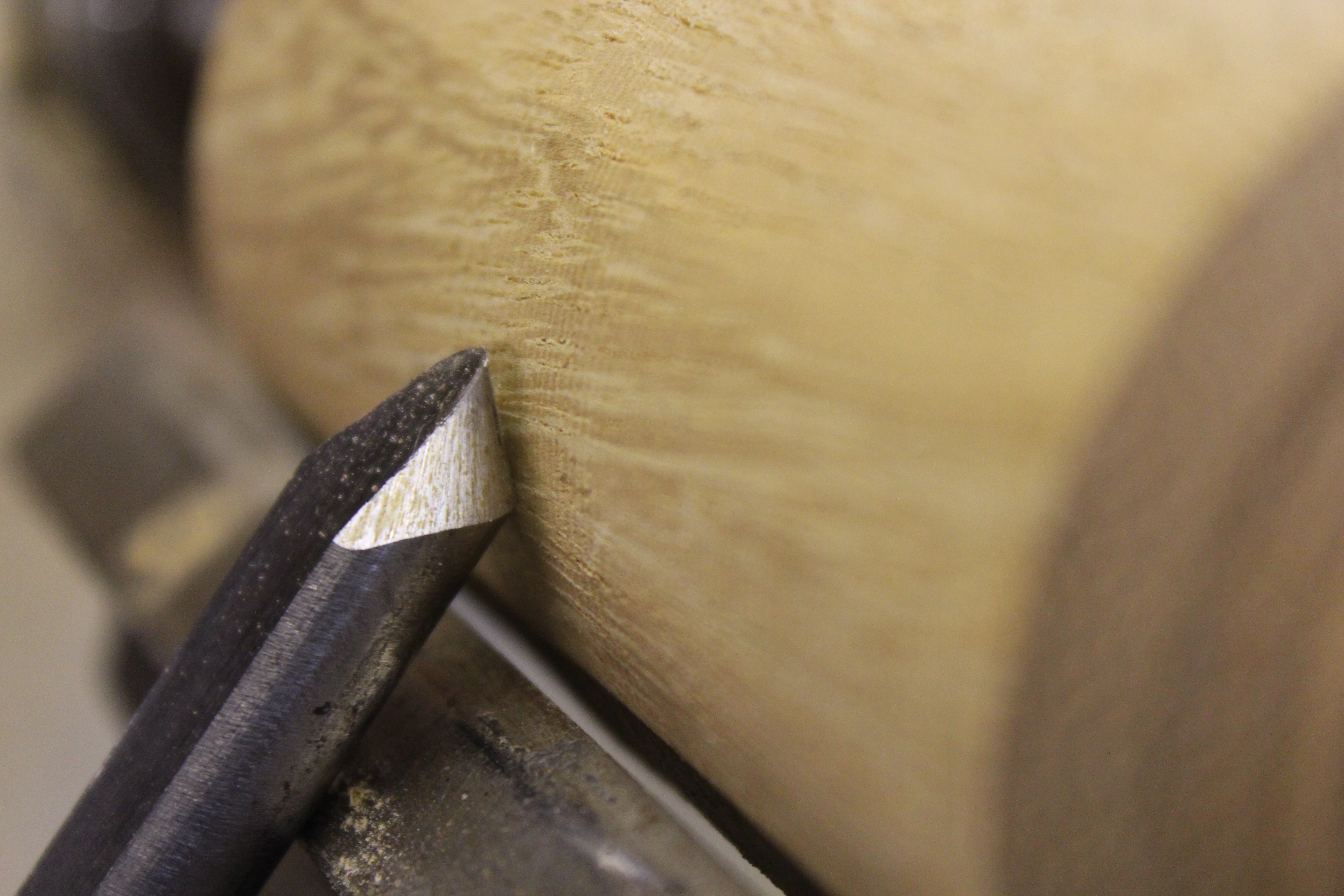 Picture of Spindle Gouge- Sometimes Known As a Shallow Fluted Gouge.