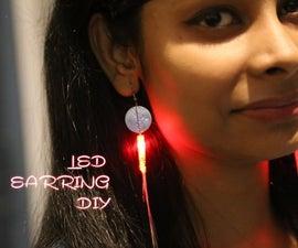 Night Shower- A DIY LED Earring
