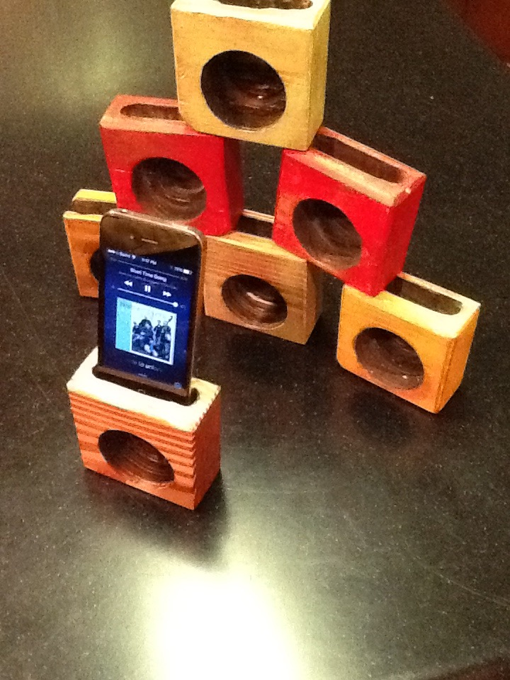 Picture of Passive 2x4 IPhone Speaker - Certainly Unexpected