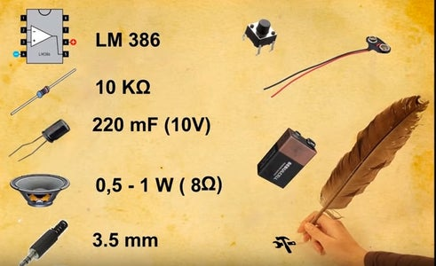 To Do a Mini Simple Audio Amplifier You Need!!!