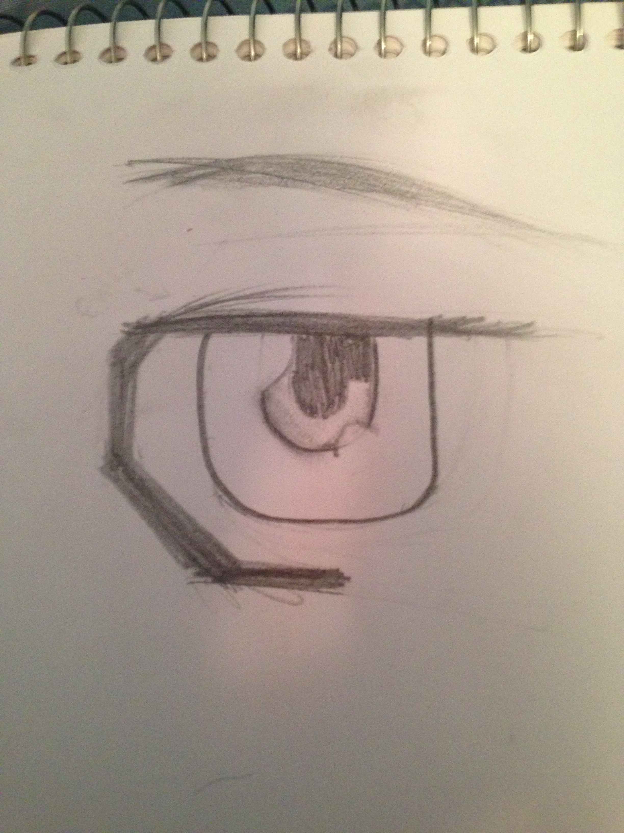 Picture of How to Draw Male Manga/Anime Eyes