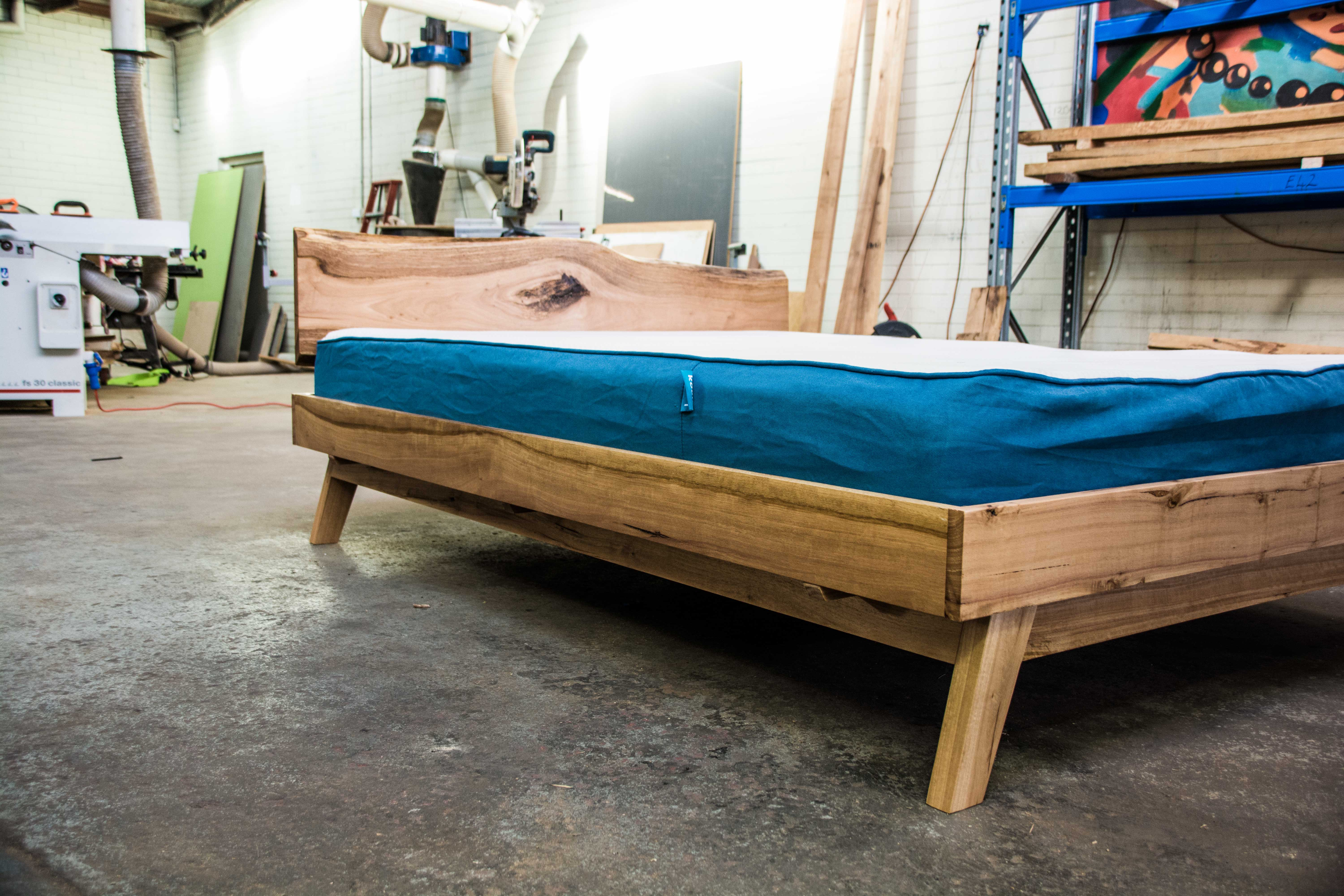 Picture of Queen Size Platform Bed