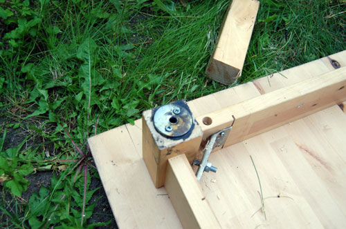 Picture of Attach the Wheels to the Table