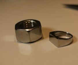 Stainless Steel Nut Ring V2.0