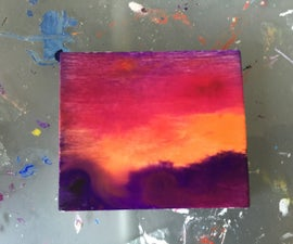 Acrylic-dyed Wood