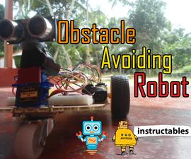 DIY Obstacle Avoiding Robot