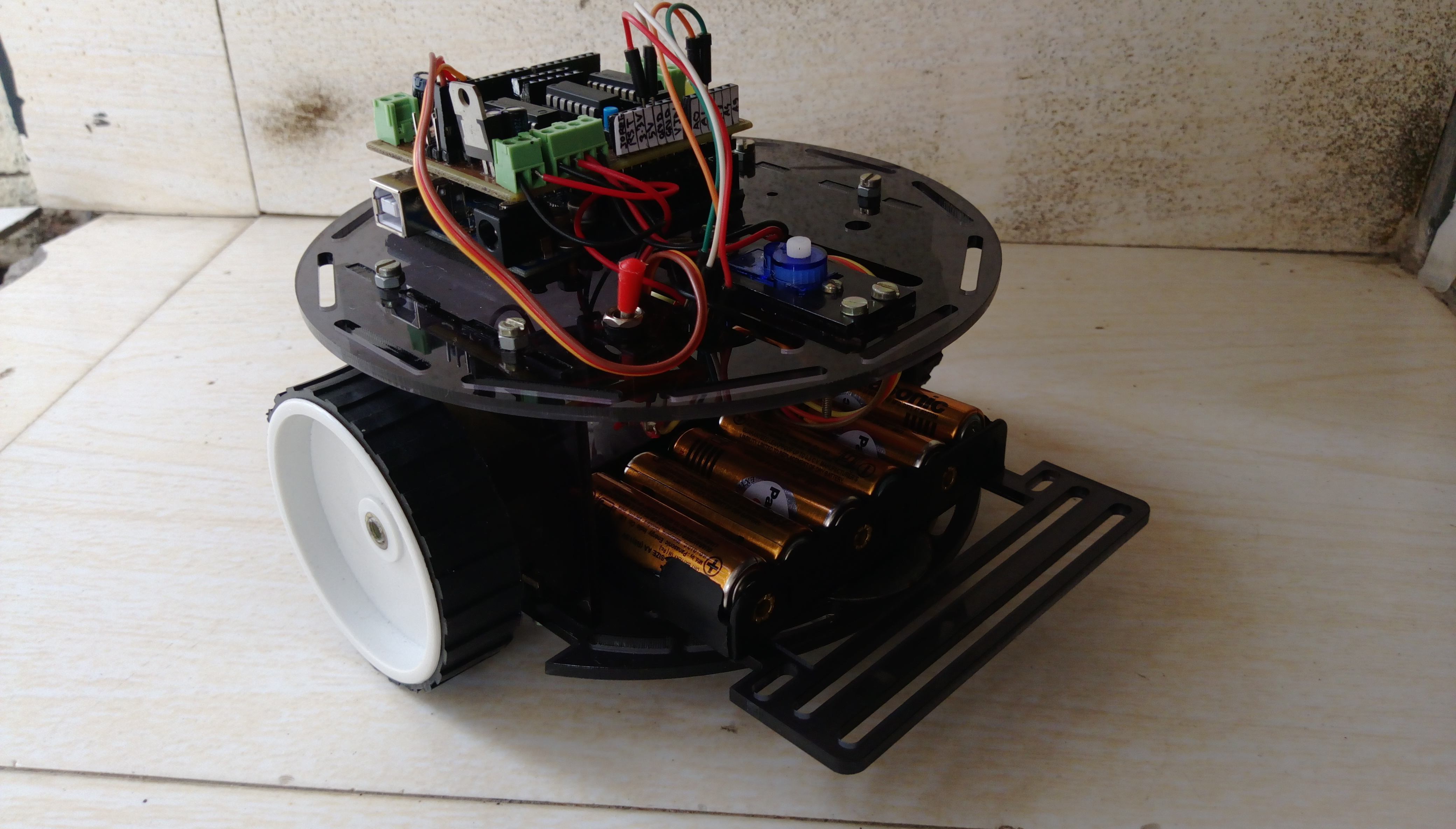 Picture of Installing and Testing the Motor Driver