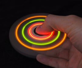 DIY LED Spinner