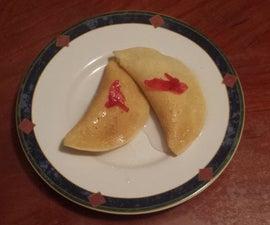 Atayef With Walnuts, Pancakes Dessert