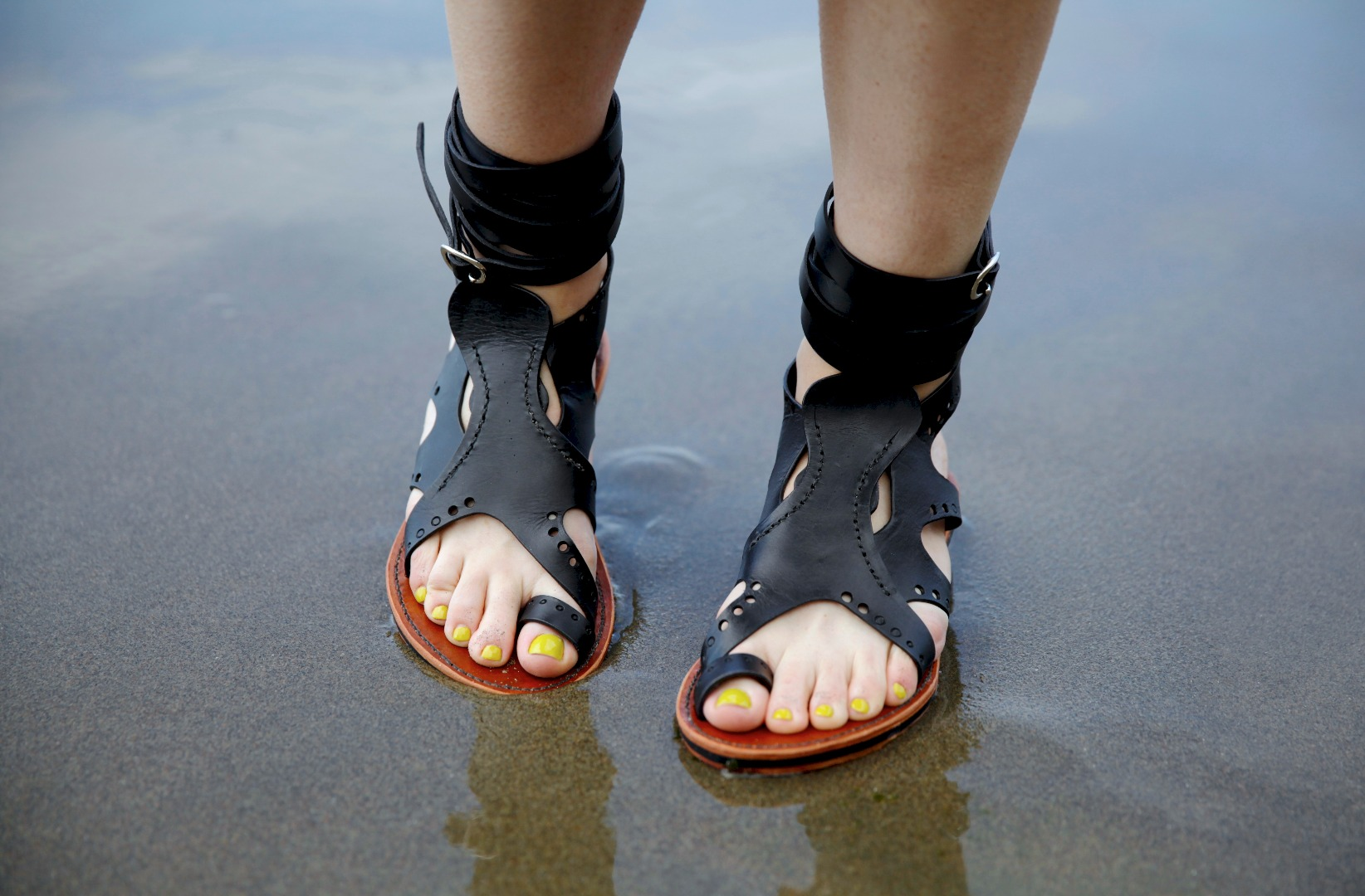 Picture of Leather Octopus Sandals