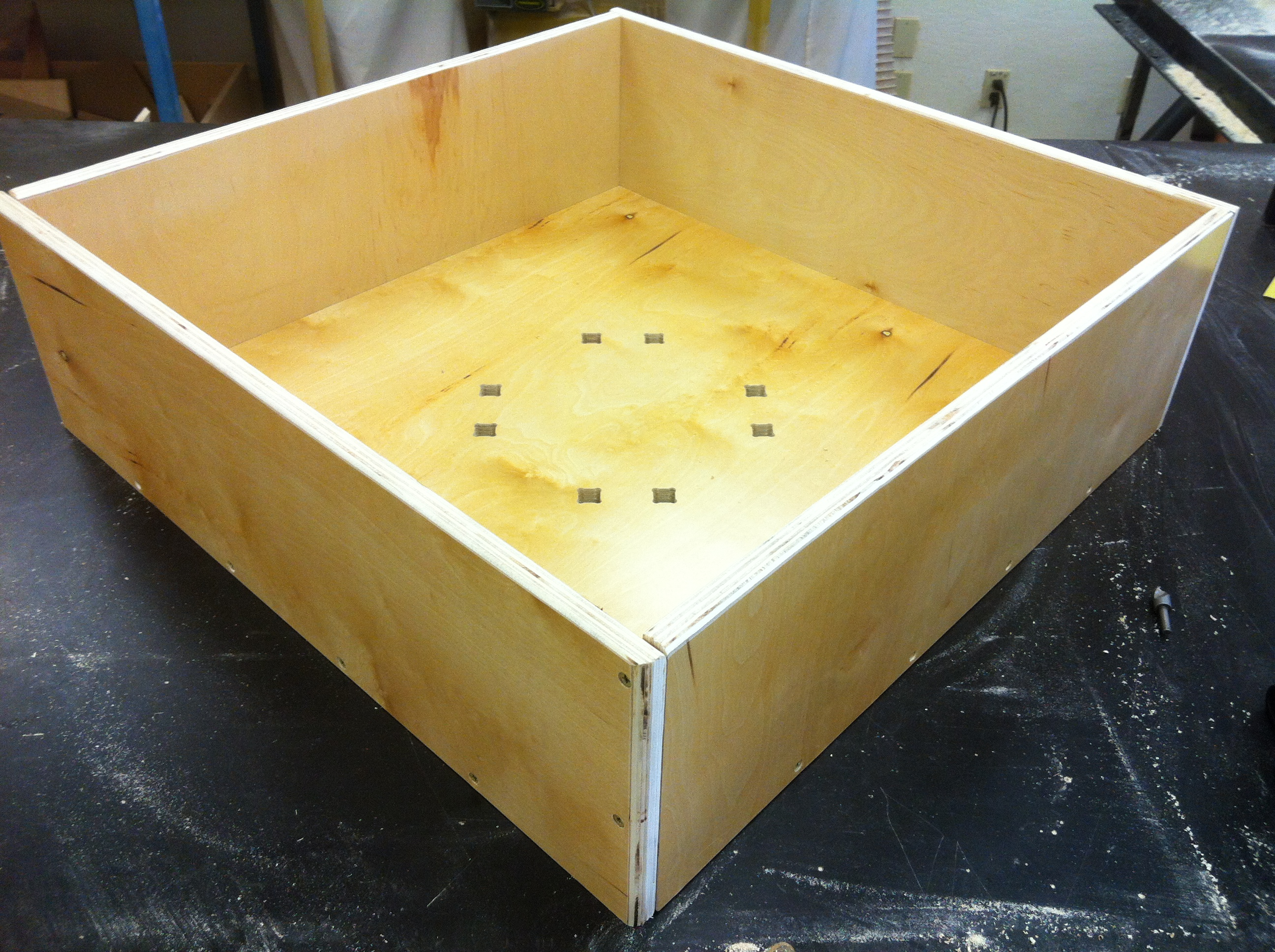 Picture of Assembly of the Box