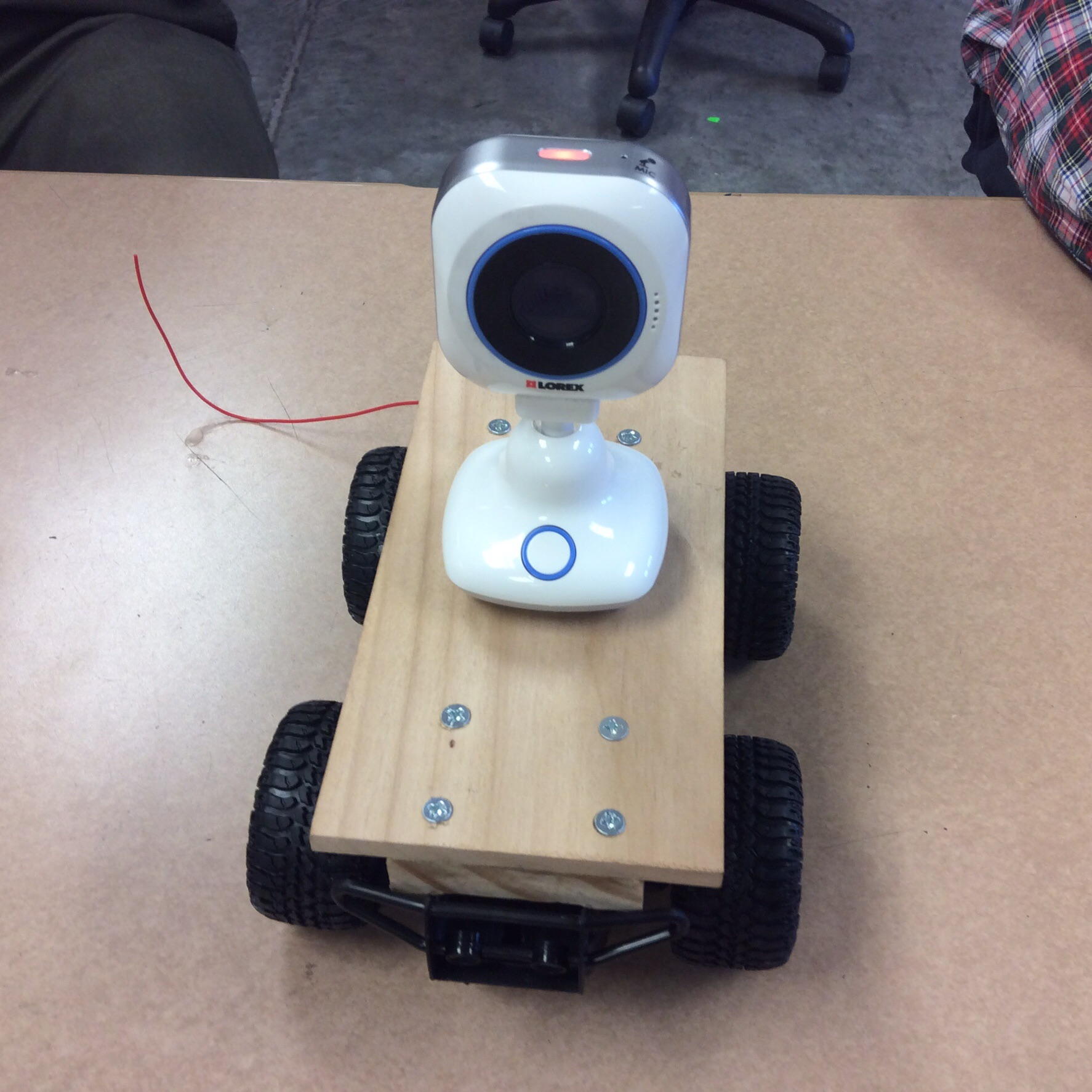 Picture of Surveillance/Audio and Video RC Car