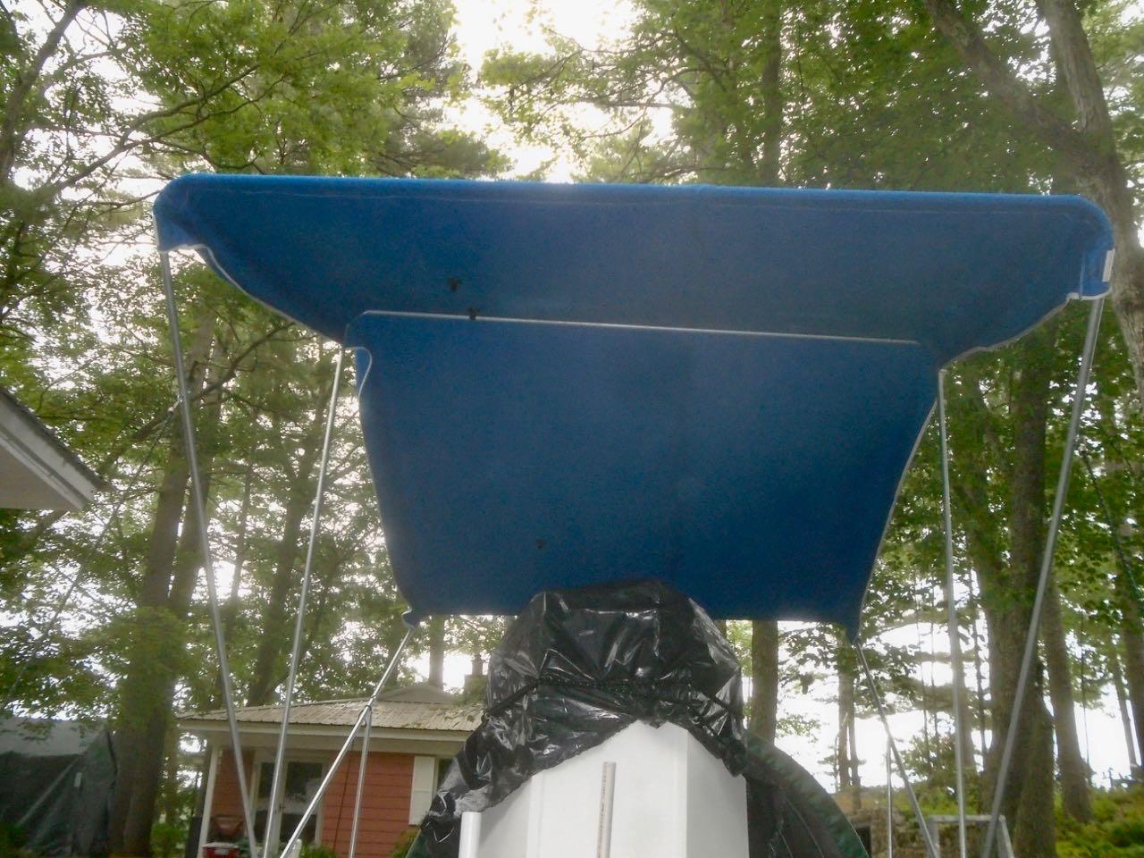 Picture of Installing the Bimini