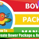 How to create and register bower package