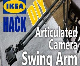Articulated Camera Swing Arm - IKEA Hack