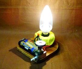 Homemade Emergency LED Light Bulb