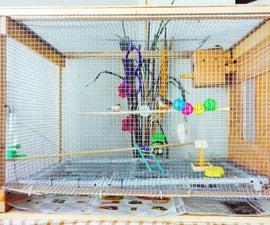 DIY  Large Bird Cage Small Aviary