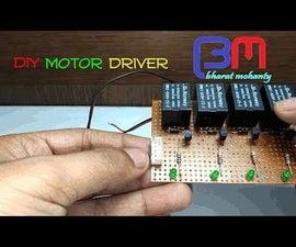 Relay Motor Driver