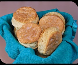 Southern Biscuits III - Mock Clabber Creme Fraiche Biscuits