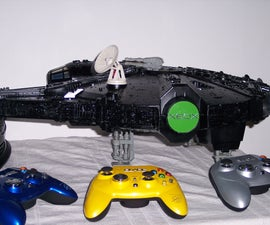 How to mod xbox into Star Wars Millennium Falcon