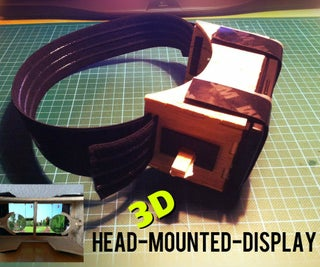 DIY 3D Head-Mounted-Display Using Your Smartphone