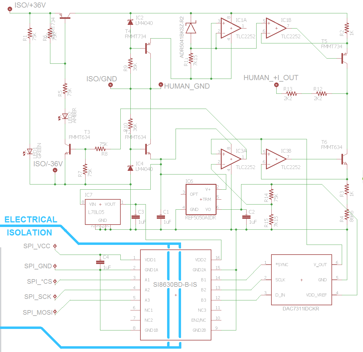 Picture of The Full Schematic