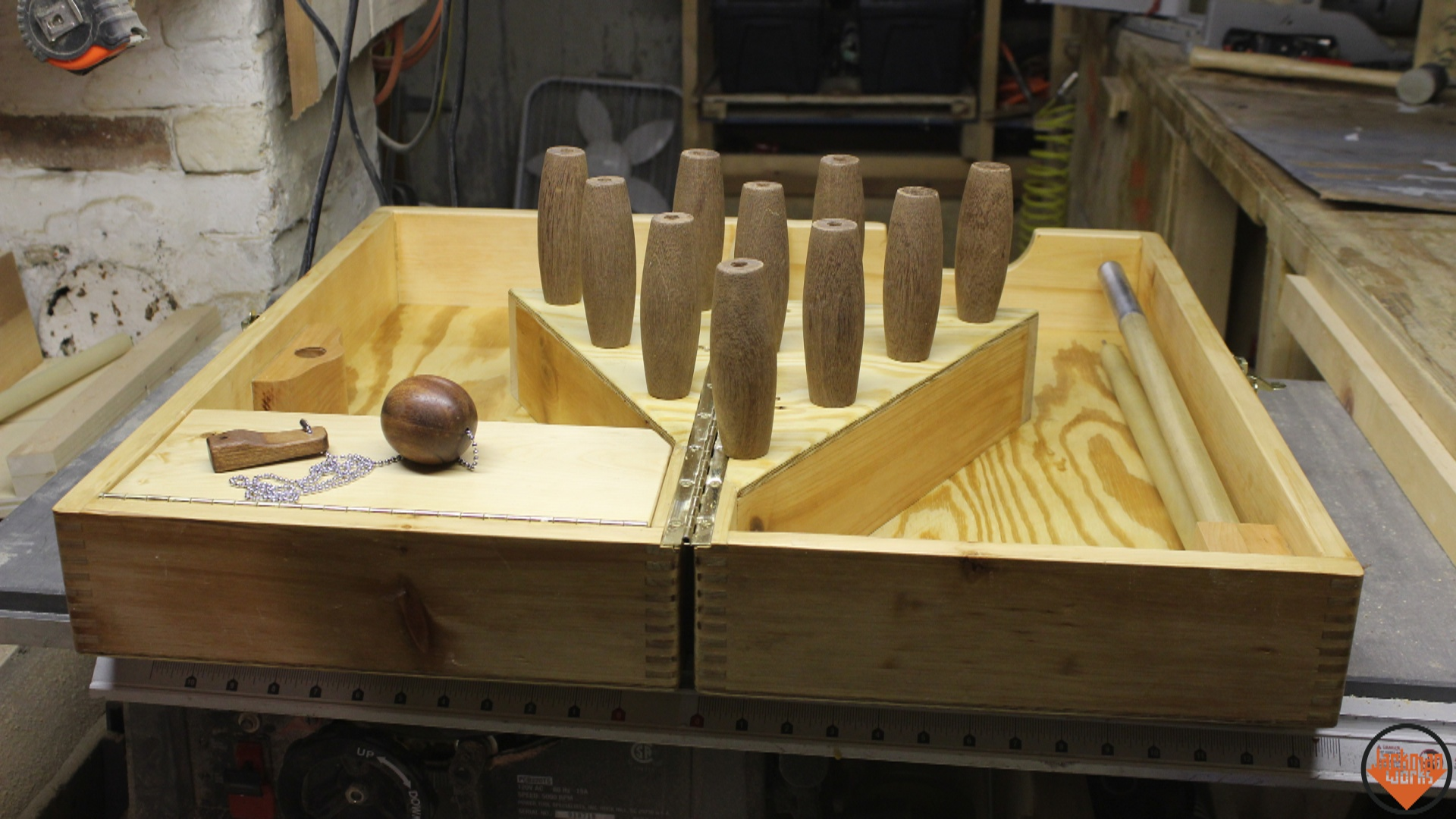 Picture of Collapsible Tabletop Bowling Game