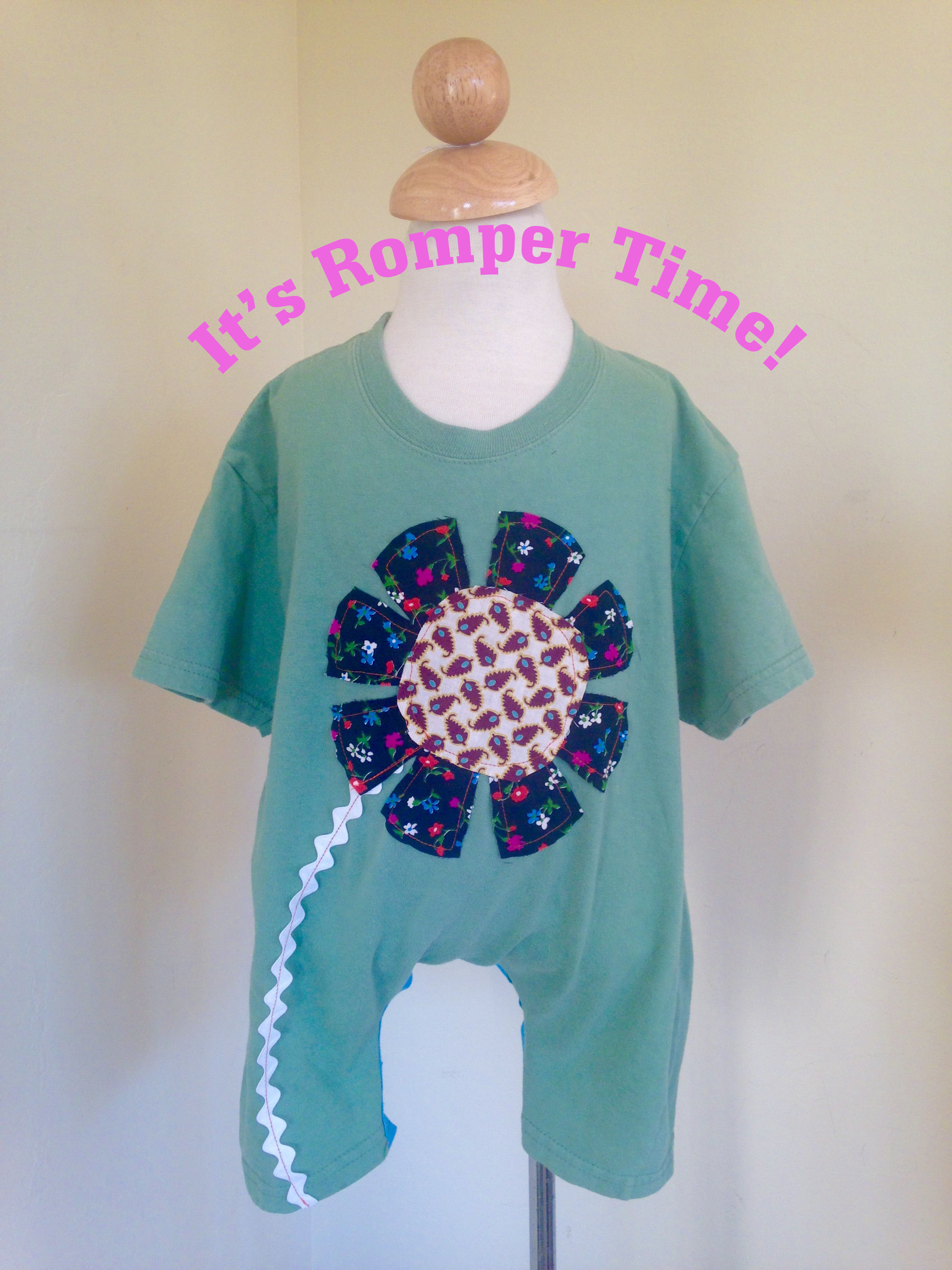 Picture of Make a Toddler Romper From a Plain Tee Shirt