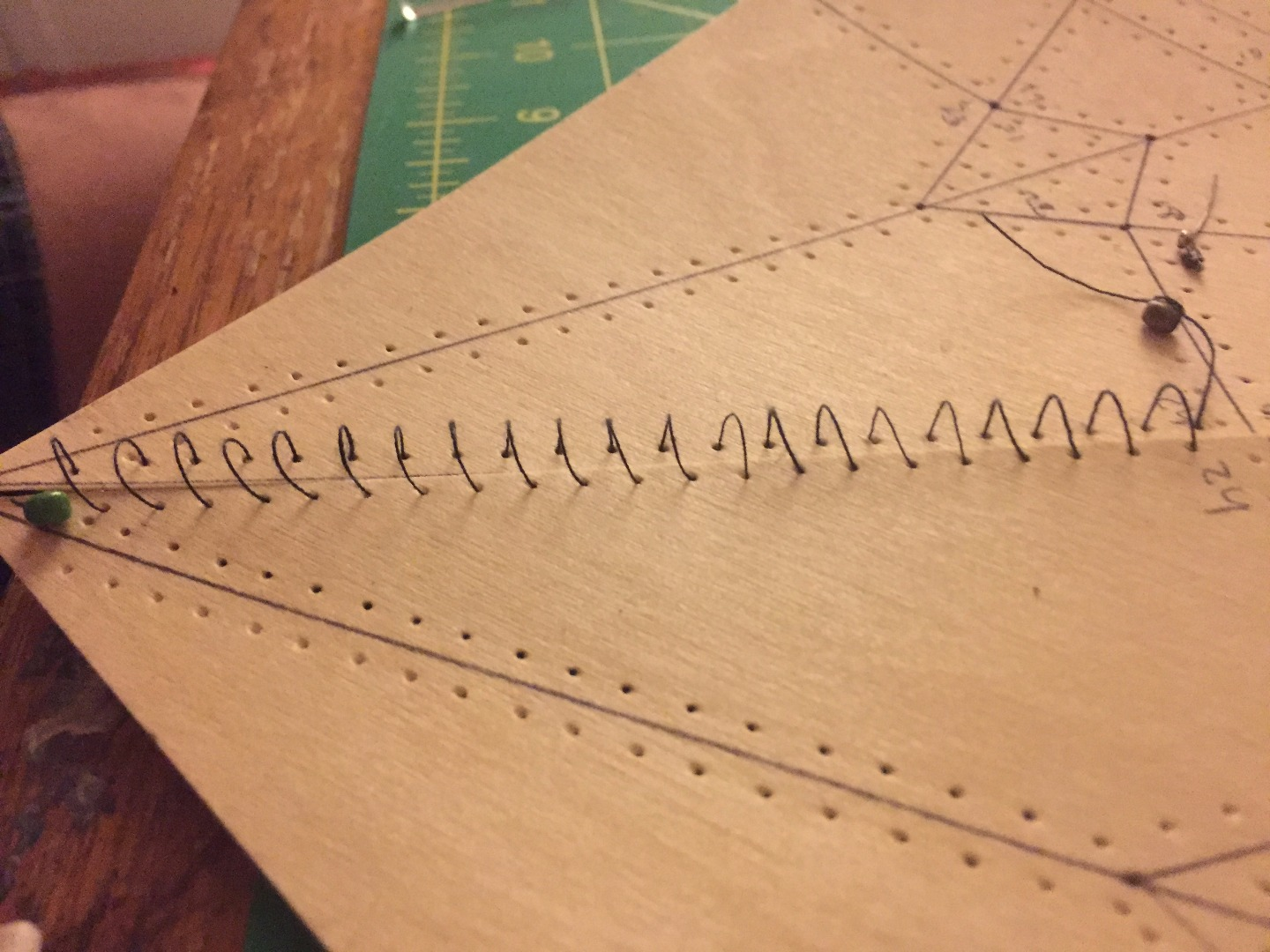 Picture of Begin Cutting and Sewing