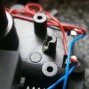 Broken gear pin holder fix - Lightshowtoy
