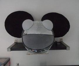Disco Deadmau5 helmet